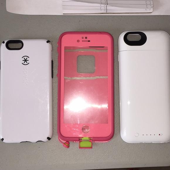 hot sale online 37d92 40af2 iPhone 6/6s Mophie, Lifeproof, and Speck case bund